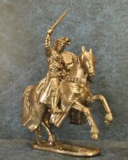 Tin Soldiers * Cavalry figure * Knight Crusader, 12th century * 54 mm