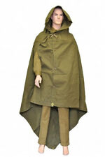 Soviet russian red army soldier rain cape poncho plash-palatka tent coat + rope