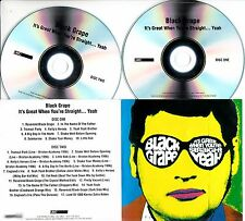 BLACK GRAPE It's Great When You're Straight Yeah 2016 UK 27-trk promo test 2xCD