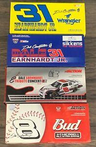 Lot of 4 Action 1/18 Dale Earnhardt Jr Diecast Cars Nascar