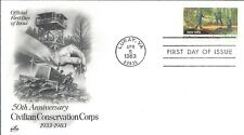 CIVILIAN CONSERVATION CORPS FIRST DAY COVER - ART CRAFT CACHET - NICE!