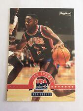 1994 SkyBox International USA Basketball - #46 Isiah Thomas, NBA Update