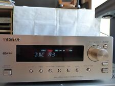 Teac T-H300 AM FM Stereo Radio Tuner nur RDS Mini separate HiFi System Silber