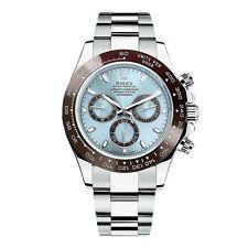 Rolex Uhren mit Platinarmbändern