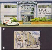JERSEY PRESENTATION PACK 2009 POSTAL HISTORY III BUILDINGS STAMP SHEET