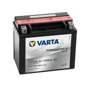 Batteria Moto Varta YTX12-BS 12V 10AH 150A
