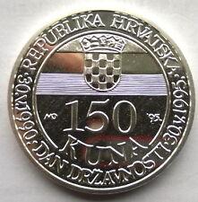 Croatia 1995 Independence 150 Kuna Silver Coin,Proof