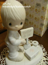 Precious Moments~e7159~DOCTOR~Lord Give Me Patience~Red Cross Box~fsh mark~BV=75