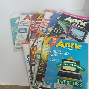 Antic The Atari Resource 1988 calendar year Missing July Issue