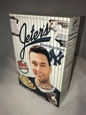 New York Yankees Derek Jeter Frosted Flakes Cereal Box 2000