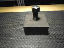 """Heavy Duty Machine Leveling Feet 5"""" x 5"""" x 2 ½"""" H With 1"""" Leveling Bolt"""