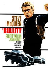 Bullitt Steve McQueen Giant Vintage Movie Poster Print - A0 A1 A2 A3 A4 Sizes