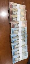 2007-2014 Venezuela 100-500 Bolivares BRICK 1000 Pcs. F, VF, XF USED 10 Bundles