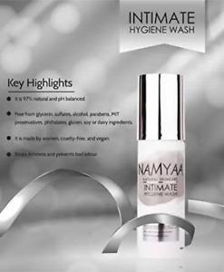 Namyaa Intimate Hygiene Wash With Tea Tree Extracts, 100 ML