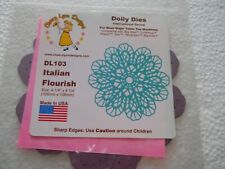 Cheery Lynn Designs DL103 Italian Flourish Doily