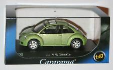 Cararama - VW VOLKSWAGEN BEETLE (Green) Scale 1:43