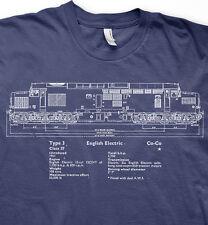 More details for class 37 diesel model railways trains br t shirt