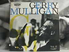 GERRY MULLIGAN QUARTET - VOL. 2 INEDIT LP EX / EX OG ITA LDM 30.017