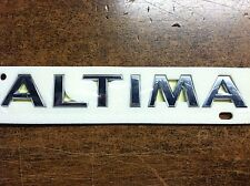 "NISSAN ALTIMA COUPE REAR ""ALTIMA"" DECKLID TRUNK EMBLEM 2008-2012"