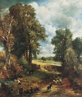 The Cornfield Landscape, The Drinking Boy by John Constable Canvas Poster Print