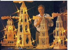 Laubsägevorlagen für verschiedene Weihnachtspyramiden