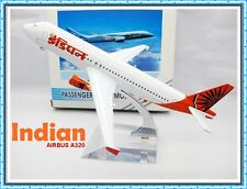 AIRBUS A320 INDIA INDIAN AIRLINE AEROPLANE METAL PLANE MODEL MODEL TOYS DIE CAST
