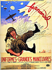 Uniformes & grandes manoeuvres Fernandel movie poster 2