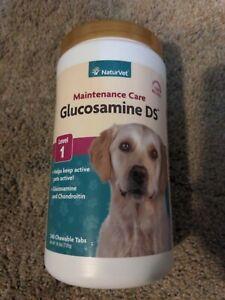 *OPEN* NaturVet 240 Count Glucosamine DS Plus Level 2 Moderate Care Soft Chews