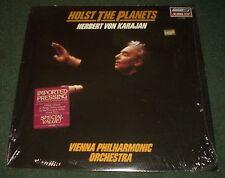 Holst The Planets Herbert Von Karajan~Vienna PH Orchestra~Imported LP~FAST SHIP!