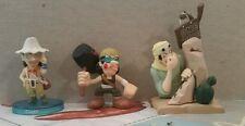 One Piece Usopp Lot Of 3 Gashapon Figures Toys Bandai Japanese Imports