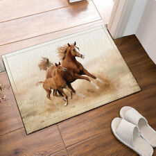 Door Mat Bathroom Rug Bedtoom Carpet Bath Mats Non-Slip Horse Mother and child
