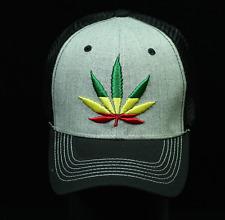 Baseball Cap USA Flag Hat Hecho En Mexico Marijuana Rooster Trucker Snapback