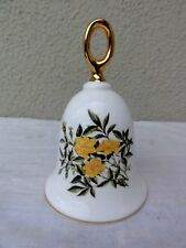 "Danbury Mint American Rose Bell Collection "" Baby Gold Star "" - Exquisite"