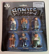 Collectible Mini Figures Series 1 Logotel HOMIES 2000 Gonzales Graphics NIB
