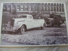 1939 STUDEBAKER  TOW TRUCK  11 X 17  PHOTO /  PICTURE
