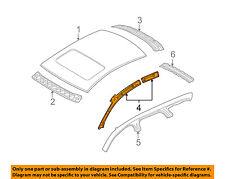 AUDI OEM 06-11 A6 Quattro-Exterior Roof Side Rail Left 4F9810137