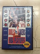 Sega genesis bulls vs lakers NBA playoffs complete with box an manual