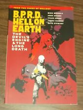 B.P.R.D. BPRD Hell on Earth Devil's Engine Long Death (Paperback)< 9781595829818