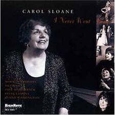 Carol Sloane - I Never Went Away [New CD]