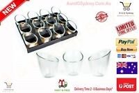 Angled Glass Candle Holder Tea Light Candle Holders For Wedding Party Home Decor