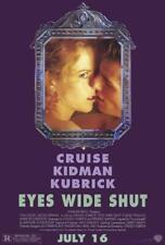 Eyes Wide Shut Movie Poster 27 x 40 Tom Cruise, Nicole Kidman, A