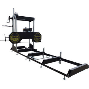 """32"""" Portable Sawmill Wood Band Saw Mill 14HP Kohler Engine with E-start BM11126"""