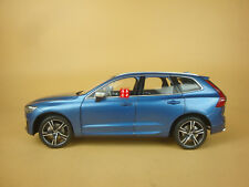 1:18 new Volvo XC60 Blue color diecast model + gift