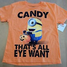 Despicable Me Halloween Kid's Unisex T-Shirt Size XS