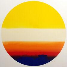 Kristen Gipson Hand Signed Original Monotype Art Painting/Print 1976 circle OBO
