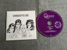Queen Freddie Mercury CD Single Somebody to Love / White man  Card Sleeve