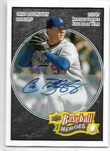 2008 Upper Deck Heroes - Base Autograph #94 Chad Billingsley #089/150 - Dodgers