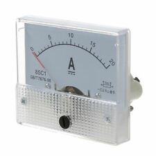 New 20A Analog Ampere Panel Meter Current Amp R1L7