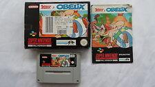 Asterix & Obelix für SNES in OVP komplett