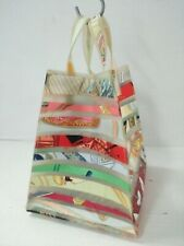 HERMES Louvre Museum Limited Small Tote Bag multicolor Rubber silk Women's USED